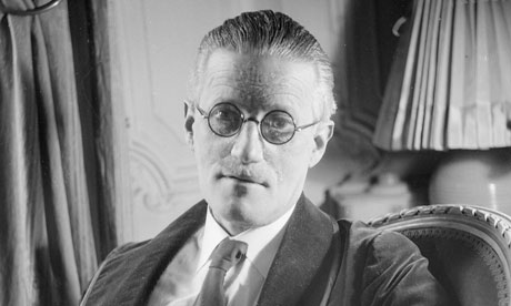 [Samuel Beckett said of James Joyce's Finnegans Wake … 'It is not only to be read. It is to be looked at and listened to.' Photograph: Lipnitzki/Roger Viollet/Getty Images