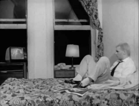 Still from the ten-minute mark of The Foreigner, 1978, Amos Poe.