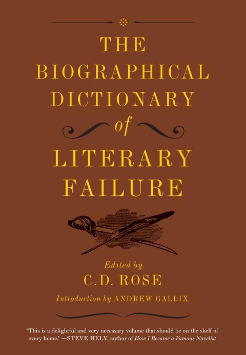 The Biographical Dictionary of Literary Failure 300dpi