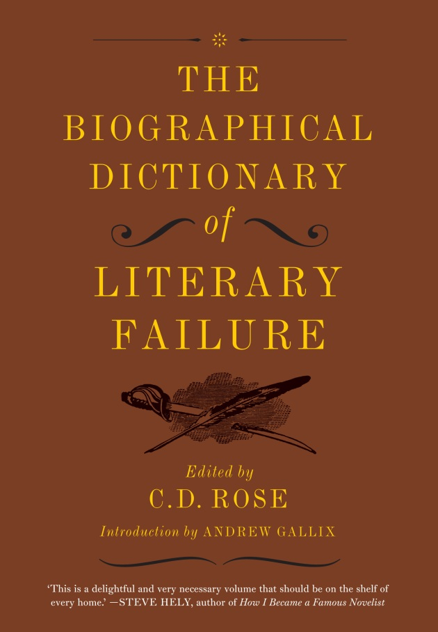 The Biographical Dictionary of Literary Failure 300dpi