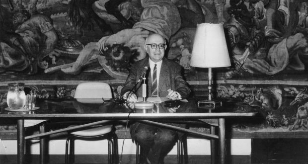 Frankfurt School lecture: Theodor Adorno in Rome. Photograph: Ullstein Bild via Getty