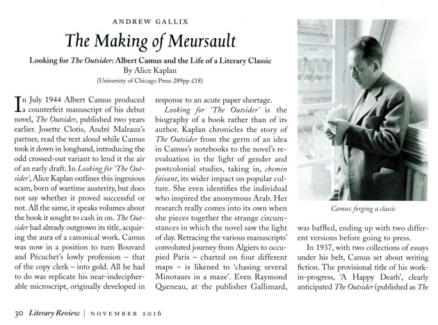 """the personal deficiencies of meursault in albert camuss novel the outsider Read this essay on """"camus has created meursault as an outsider the character meursault, in albert camus's the albert camus' novel the stranger (outsider."""